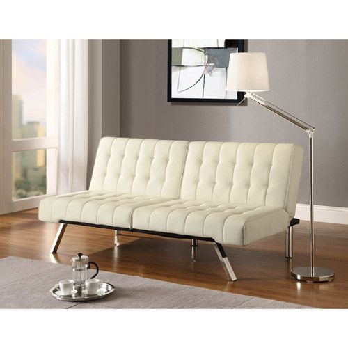Emily Convertible Futon, Multiple Colors $169 Walmart
