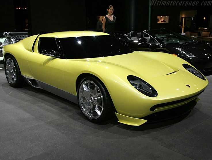 Charmant 2006 Lamborghini Miura Concept: Gallery, Full History And Specifications