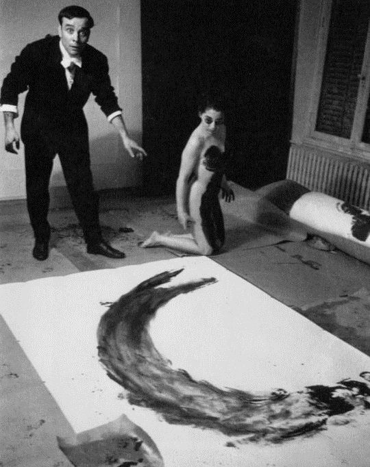 The Void, 1958 by Yves Klein / Action Painting