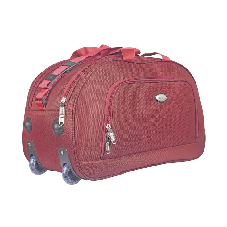 Find ultimate way of your travelling experience with Prime Duffle Bag with Two Tone Polyester Metty Material, Durable, Spacious, Lightweight and Easy to Carry.