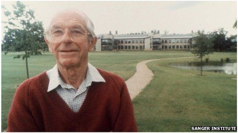 Frederick Sanger, the British biochemist who twice won the Nobel Prize, has died at the age of 95.