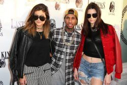 awesome Tyga, Kylie Jenner Threesome With Kendall Jenner Claim NOT True