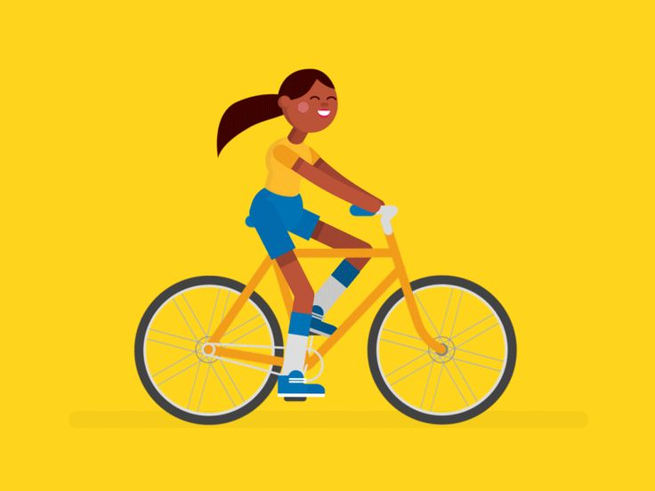 Cycling woman monchomasse