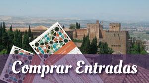 Compra tus entradas de la Alhambra de Granada!!!!!