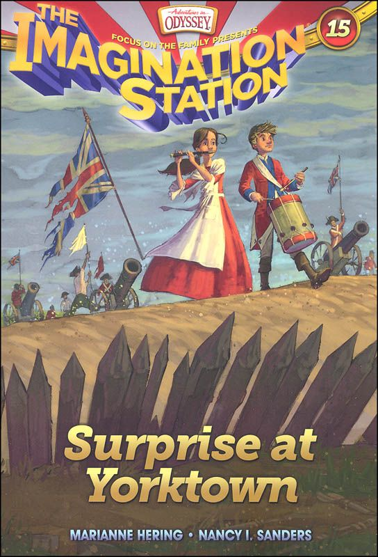Surprise at Yorktown - Book 15 (Imagination Station) | Main photo (Cover)