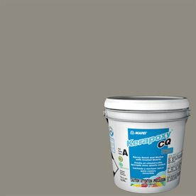 Mapei Kerapoxy Cq 1-Gallon Pewter Sanded Epoxy Grout 40252