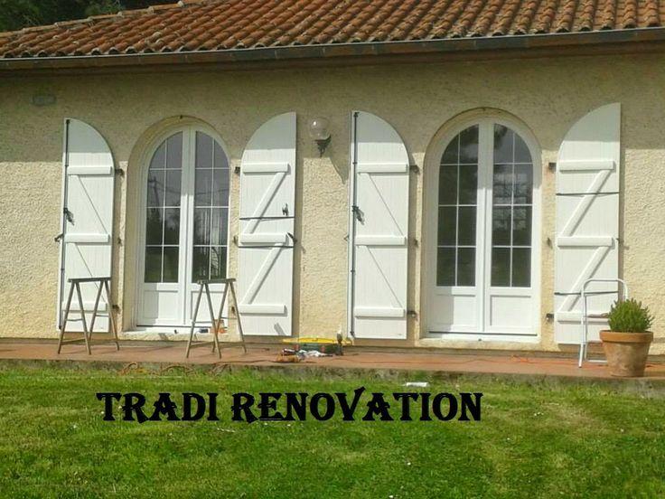 ...  Fenêtres de chalets, Maisons de campagne et Portes fenêtres
