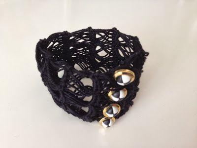 Shartistiek: Broomstick lace / Bezemsteel kant