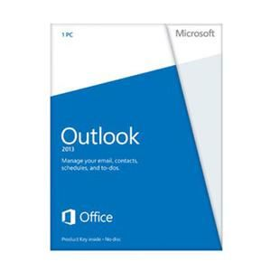 Software Suites : Microsoft Outlook 2013 32/64-bit - 1 PC - $119.99 Outlook 2013 has a brand new look. It's cleaner. It's designed to help you focus on what's important with a clear view of email, calendars, and contacts. You'll be able to communicate more effectively by connecting efficiently with others.