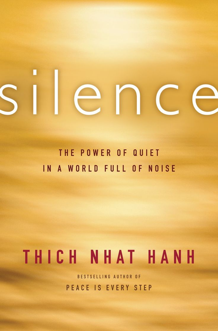 Silence: The Power of Quiet in a World Full of Noise by Thich Nhat Hanh #Books #Budhism #Silence #Quiet