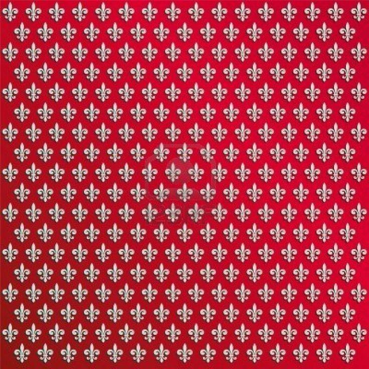 fleur de lys wallpaper Stock Photo - 6785170