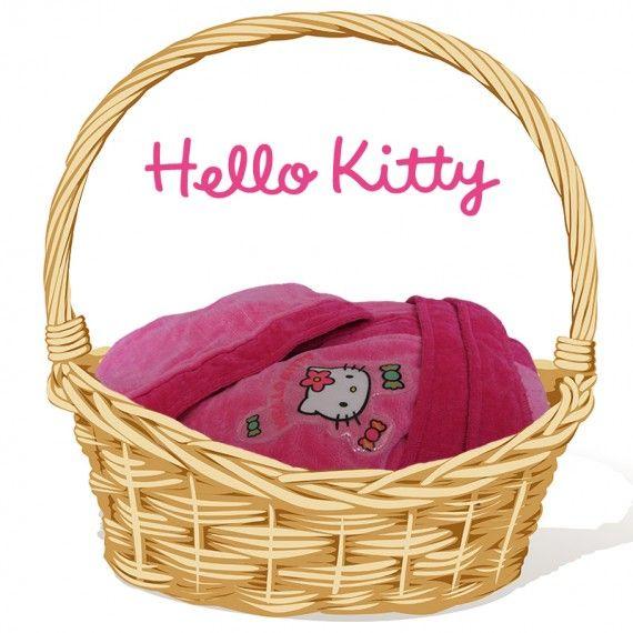 accappatoio spugna hello kitty