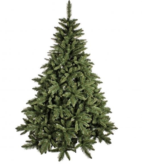 albero di Natale Seattle ecologico cm 210 in offerta struttura e base in ferro
