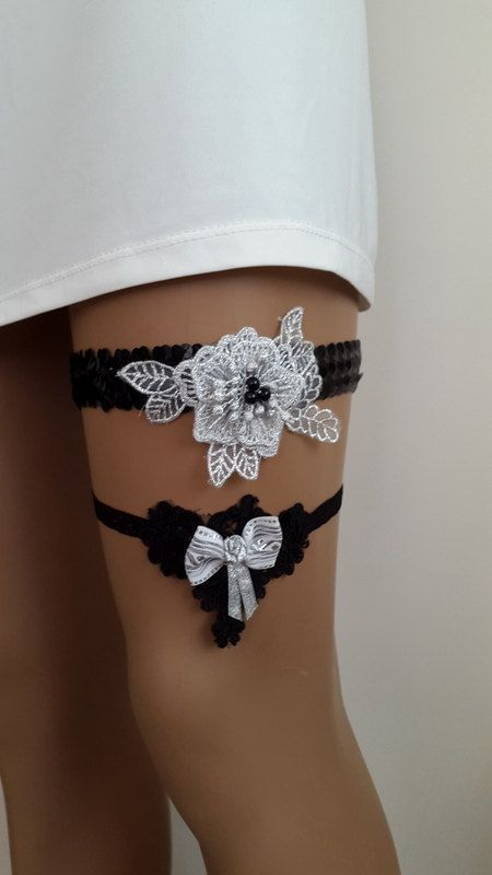 Hey, I found this really awesome Etsy listing at https://www.etsy.com/listing/293868329/blackgrey-garter-toss-garters-sequined