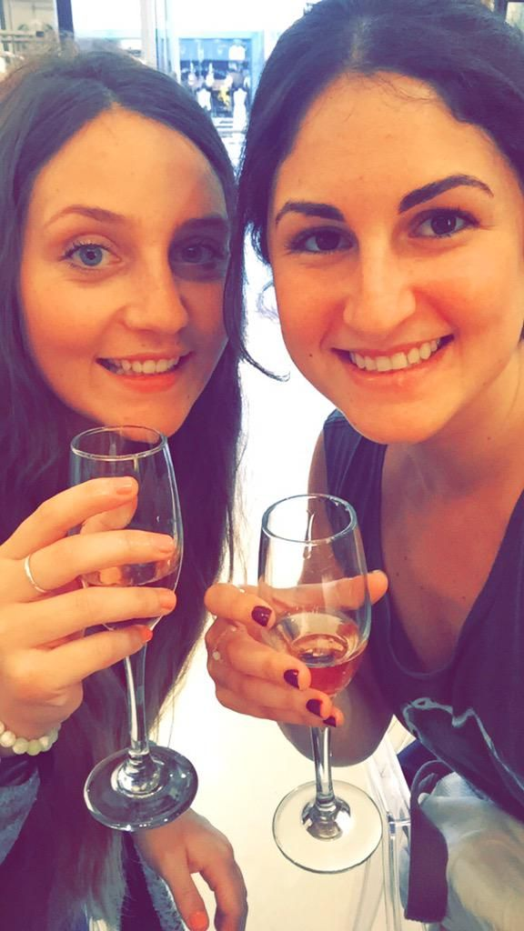 #Nails and #Champagne at the #NicciSummer15 launch! #CapeTown #pamper