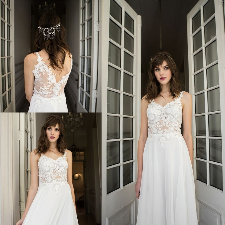 Vestido de novia con transparencia · Transparent Wedding Dress