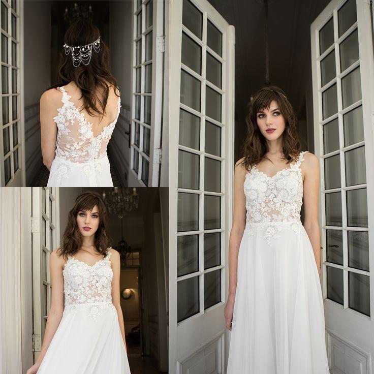 Vestido de novia con transparencia · Transparent Wedding Dress