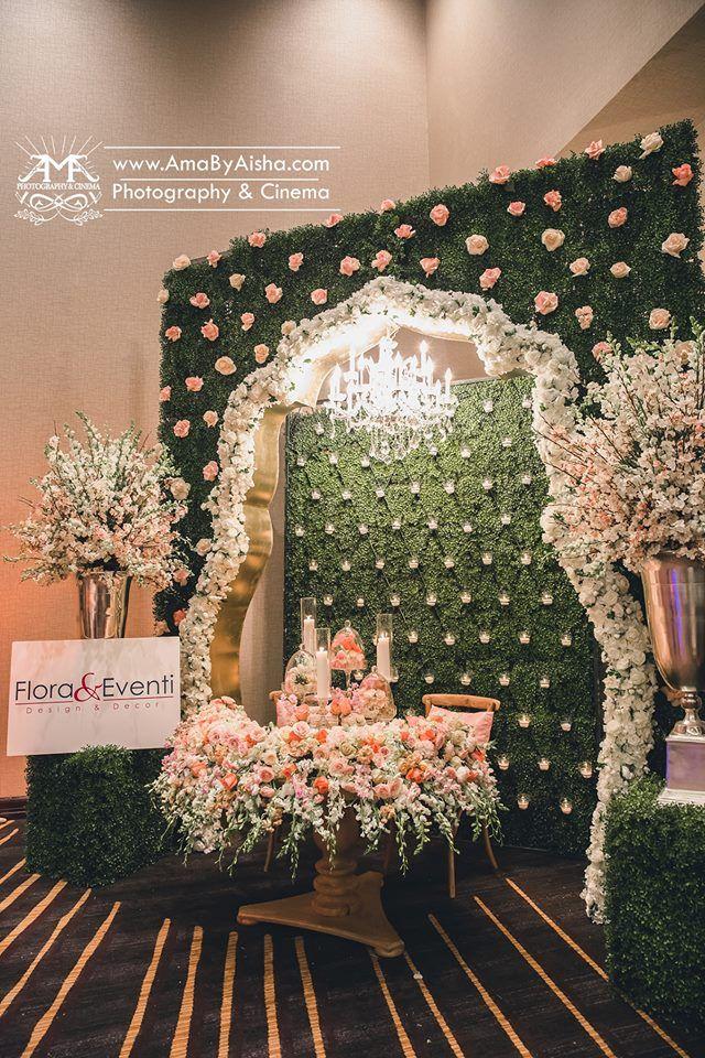 vases Wedding CanopyBackdrop WeddingFlower BackdropWedding Stage