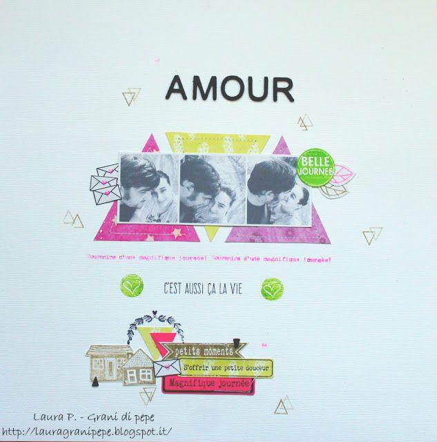 Grani di pepe: Amour - Layout