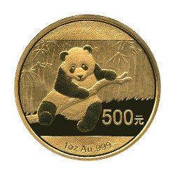 Panda Goldmünze #gold #china