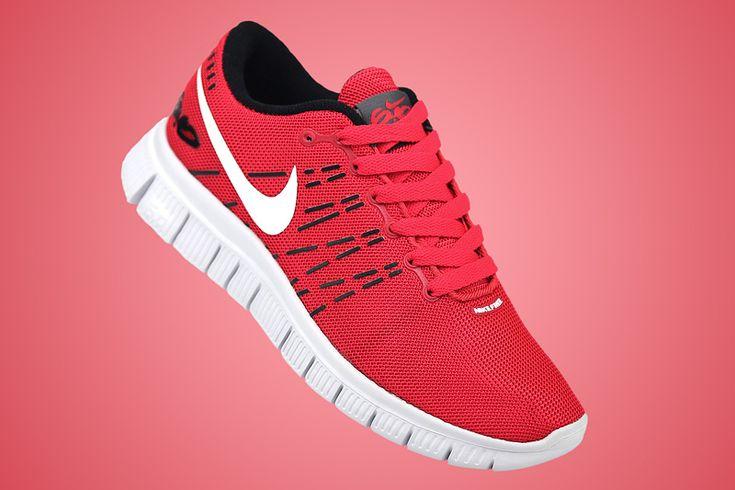 Womens Nike Running Free 6.0 V2 Lovers Carbon Black/Varsity Red