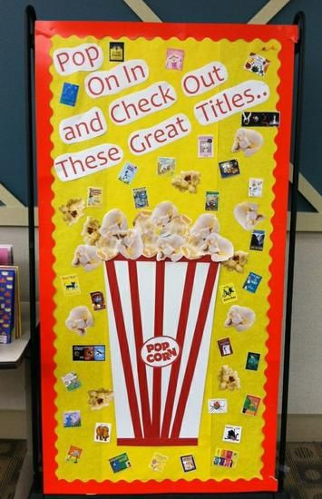 Back To School Library and Reading Bulletin Board Idea