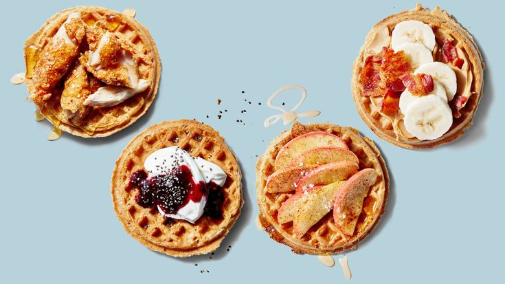 4 Super-Simple Waffle Recipes You Have to Try