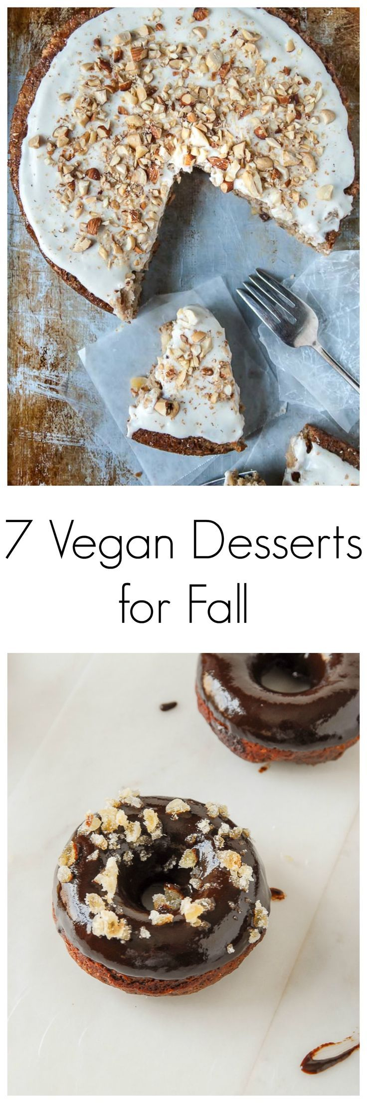 Ready to start your fall baking? Here are 7 vegan dessert recipes ready for the fall season!