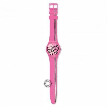 Νεανικό γυναικείο ρολόι Origin Of Love του ελβετικού οίκου SWATCH από πλαστικό, με ροζ καντράν και λουρί. Εγγύηση 2 ετών της επίσημης αντιπροσωπείας #Swatch #love #ροζ #σιλικονη #ρολοι
