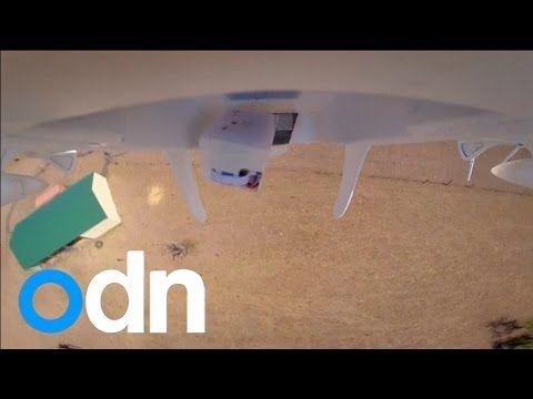 Project Wing, Drone Canggih Buatan Google yang Bisa Mengantarkan Barang