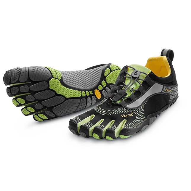 bikila ls in black green at vibram five fingers sale athletic gear. Black Bedroom Furniture Sets. Home Design Ideas