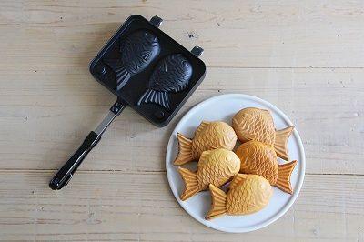 たい焼きメーカーやホットサンドメーカーが新発売   お菓子・パン材料・ラッピングの通販【cotta*コッタ】