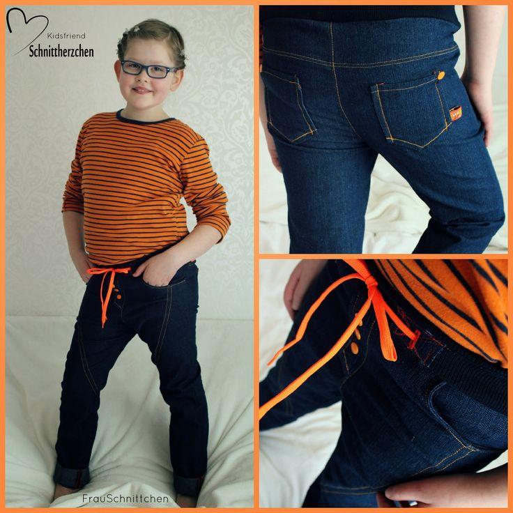 FrauSchnittchen: Neue Hosen für das Fräulein....Kidsfriend