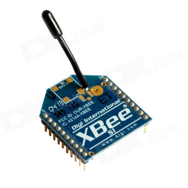 TENYING S1 1mW Wire Antenna Zigbee Data Transmission Module for Arduino - Deep Blue. Xbee module asopts ZigBee wireless module technology, communicate with the microcontroller through inter-serial device; Can quickly connected to a ZigBee network; This 2.4GHz XBee wireless module adopts 802.15.4 protocol stack, communicate through serial interface and microcontroller and other devices; Supports point-to-point communication and point-to-multipoint networking. Simple and convenient.. Tags…