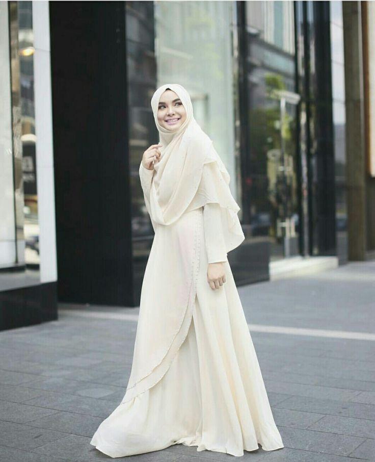 Hijab and dress @fatinsuhana