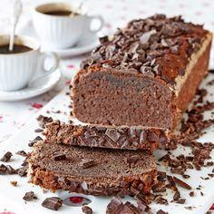 Enkel chokladkaka helt utan gluten.