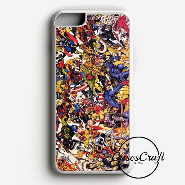 The Avengers Characters Art iPhone 7 Plus Case | casescraft