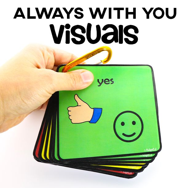 Free set- If you're a special education teacher- you know how valuable your visual supports are- make sure they're always with you!