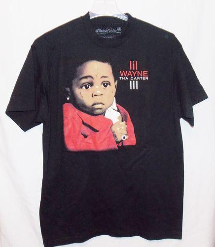 Lil Wayne Tha Carter III 3 Mens T Shirt Size XL Concert Divine Order New   eBay