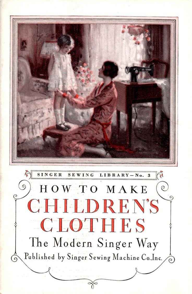 Come fare vestiti per bambini il modo cantante moderno Vintage 1930s neonati neonati bambini suggerimenti trucchi macchina da cucire mestiere libretto di howtobooksandmore su Etsy https://www.etsy.com/it/listing/235010248/come-fare-vestiti-per-bambini-il-modo