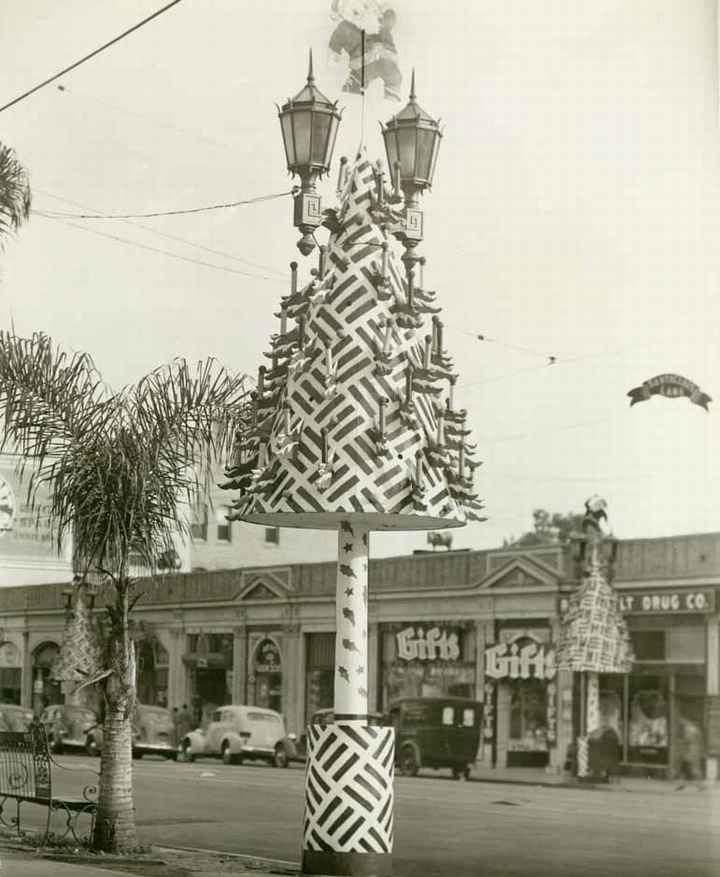Christmas Tree Lane Los Angeles: 10 Best Images About LOS ANGELES 1940 On Pinterest