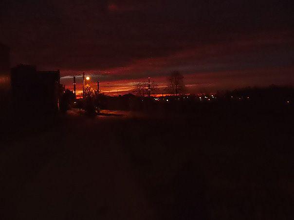 Sky at 5 am