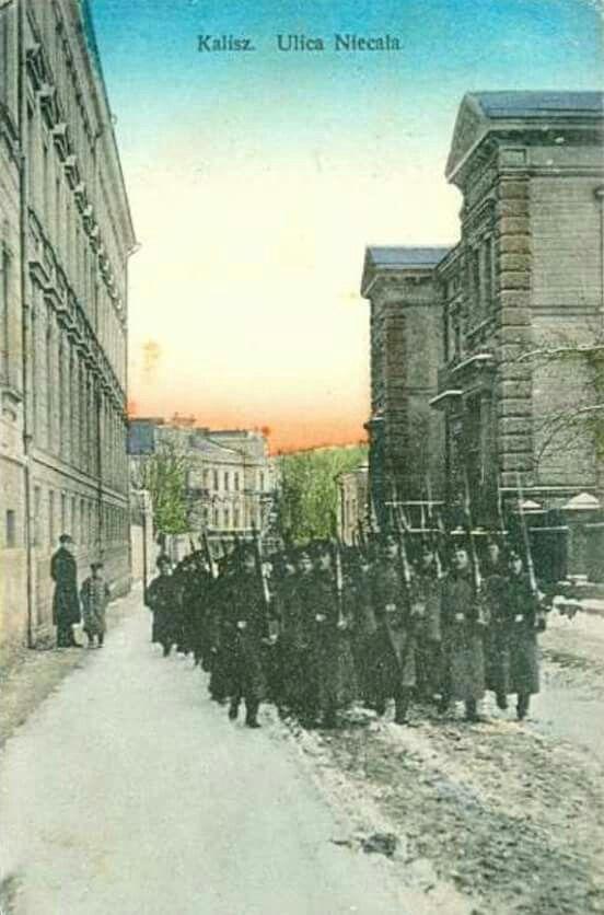 Kalisz in 1914