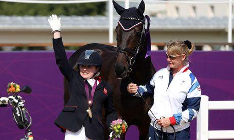 Paralympics 2012: Natasha Baker wins stunning second dressage gold