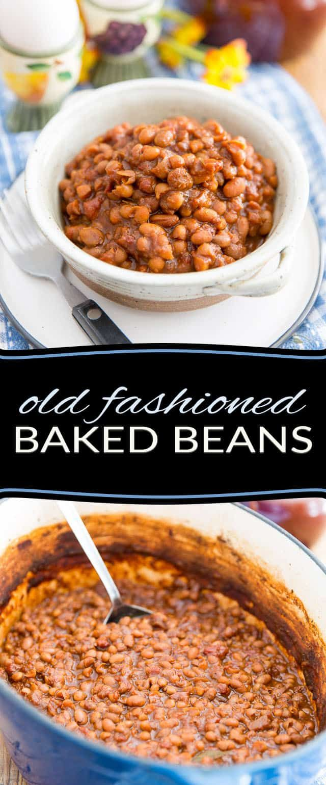 Old Fashioned Baked Beans Recipe