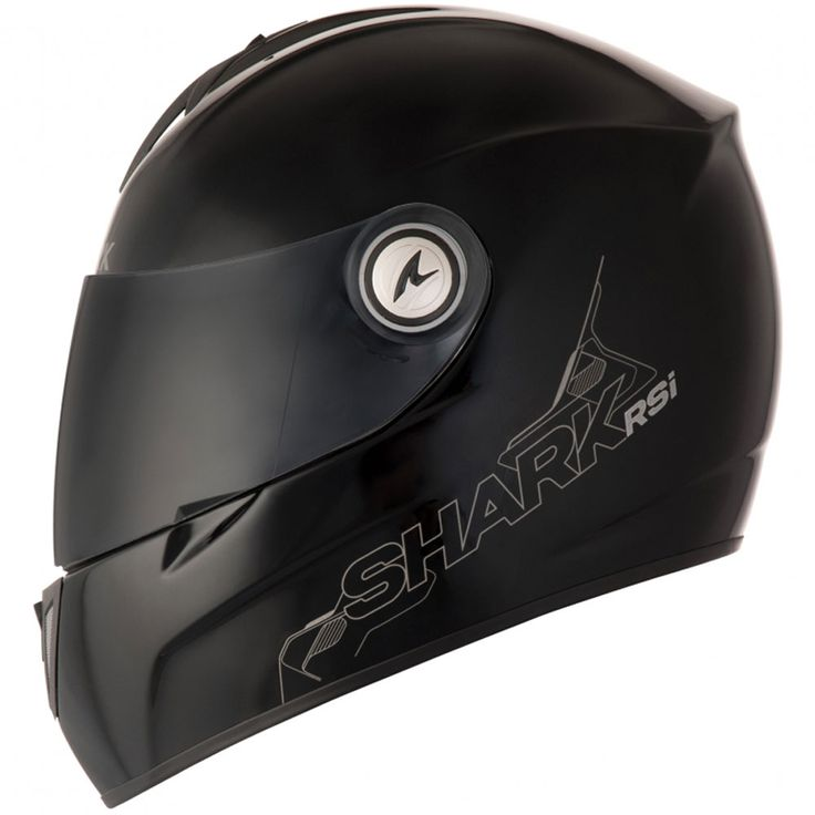 Capacete Shark RSI S2 Série 2 Blank BLK Preto - MotoBR