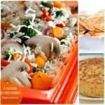 3 recetas en microondas ¡de acompañamientos!