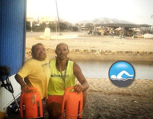 El fantástico Vera_neo de este JamboAnfibio no hubiera sido posible sin la impagable ayuda de los socorristas de Suma 2005.
