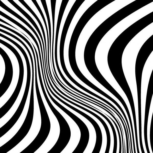 Twirled stripes zebra skin pattern