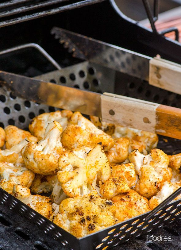 Smoky Coconut Cauliflower   28 Clean Eating Recipes To Make On The Grill